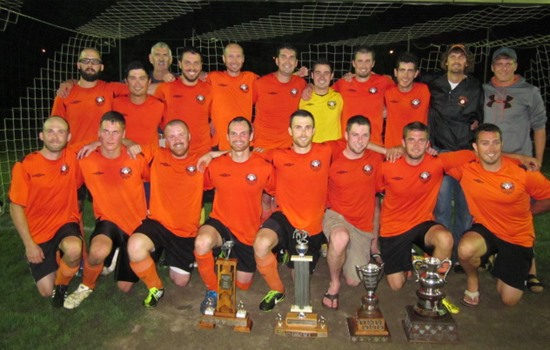 2013 Brighton Orange Div 1 League and Cup Winners
