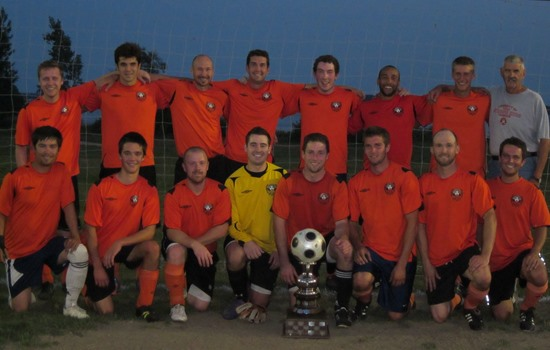 2012 Brighton Orange Div 1 League Winners